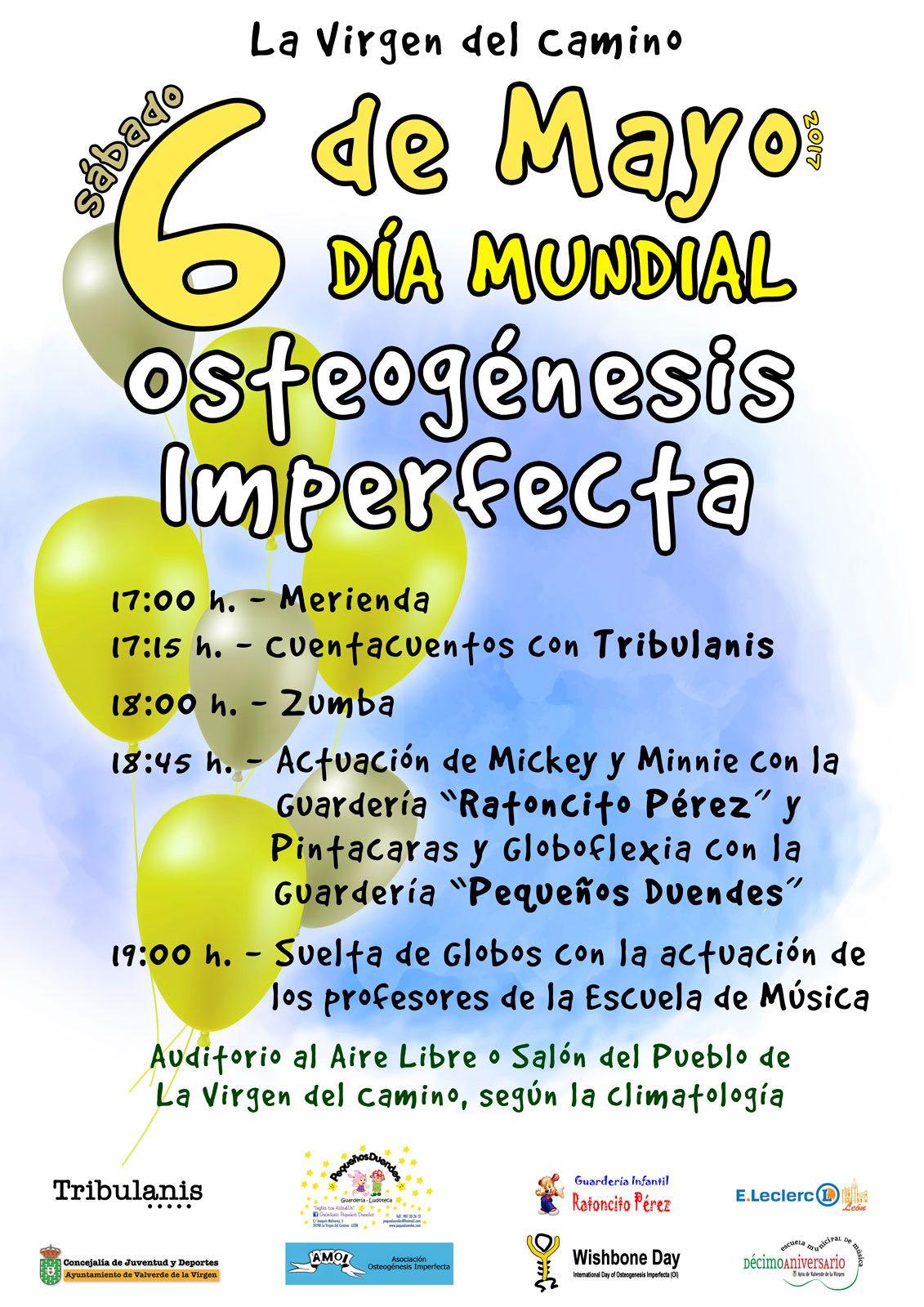 Programa Día Mundial de la Osteogénesis Imperfecta
